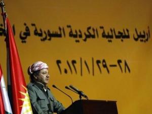 مسعود بارزاني يُلقي كلمته في المؤتمر