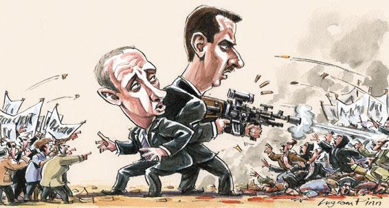 روسيا وسوريا - بوتين وبشار
