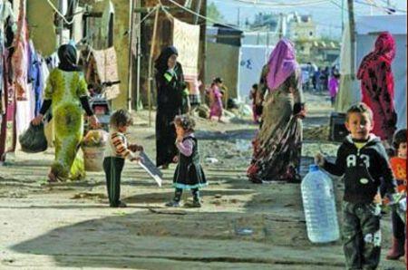 لاجئين سوريين في لبنان