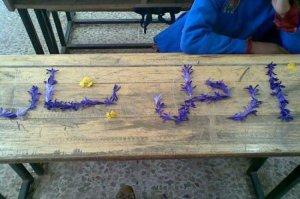أطفال السلمية يطالبون برحيل الأسد