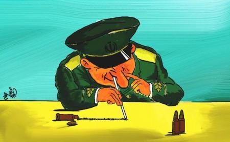 كاريكاتير عن إيران
