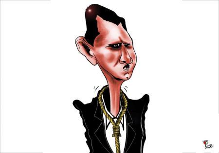 كاريكاتير بشار (2)