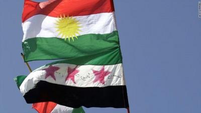العلم الكردي والاستقلال
