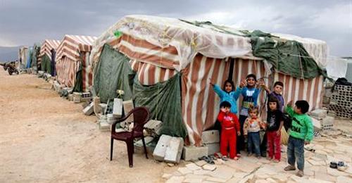 أطفال لاجئين سوريين في لبنان