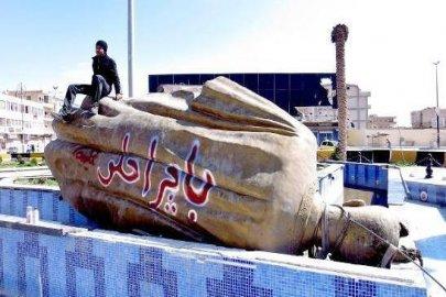 تمثال حافظ في الرقة