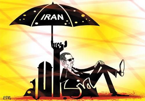 كاريكاتير بشار وإيران وحزب الله