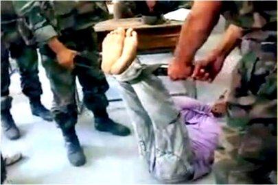 تعذيب معتقلين