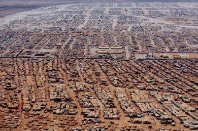 مخيم الزعتري - مدينة الخيام