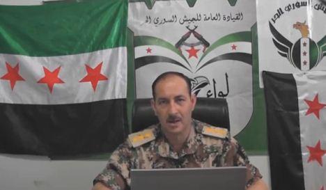 أمين سر الجيش السوري الحر النقيب عمار الواوي