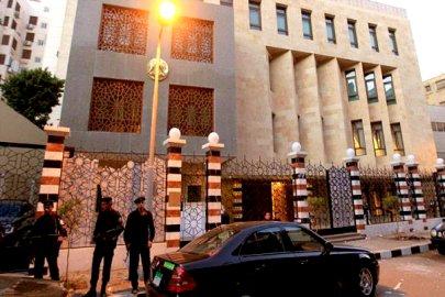السفارة السورية في القاهرة