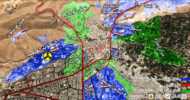 خريطة حي برزة