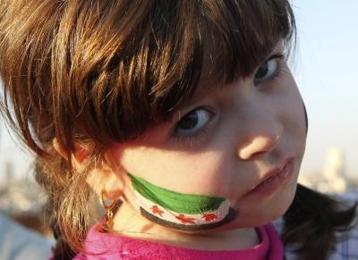 طفلة من الثورة السورية