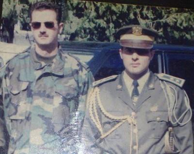 عمار شريفي وبشار الأسد