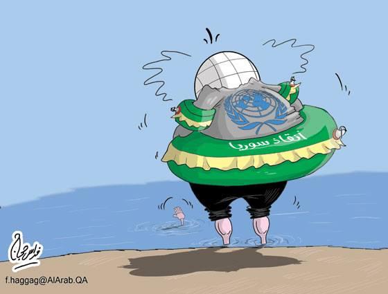 كاريكاتير سوريا والدول