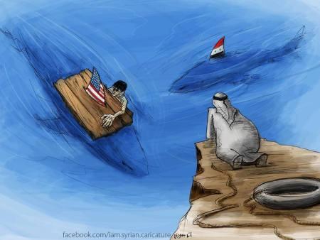 كاريكاتير سوريا والغرب والعرب