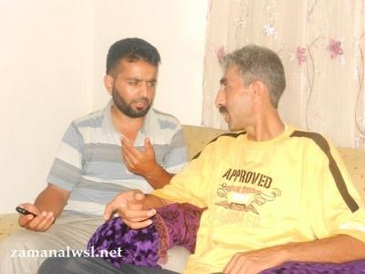 الطبيب الشامي (يمين المشاهد) وأبوالقعقاع