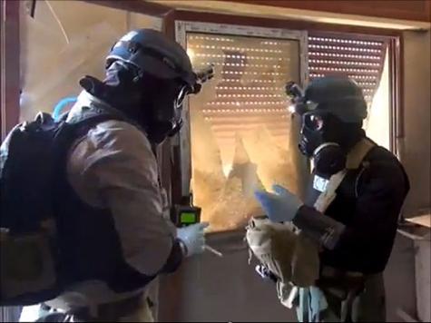 بعثة التفتيش المشتركة زارت أولا مناطق تعرضت للهجوم الكيميائي قرب دمشق في أغسطس/آب