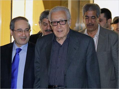 الإبراهيمي يزور سوريا على وقع انتقادات مزدوجة من النظام والمعارضة