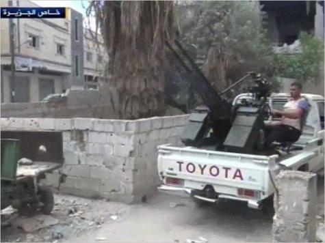 الجيش الحر سيطر على مدينة طفس بدرعا بعد اشتباكات مع قوات النظام