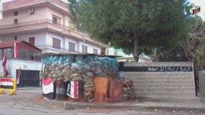 حاجز لكتائب الأسد
