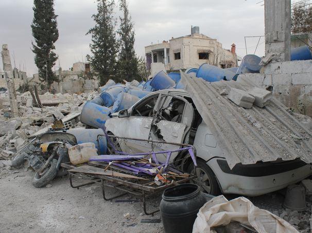 قصف برزة 2