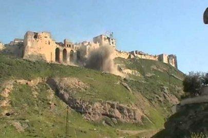قصف قلعة الحصن