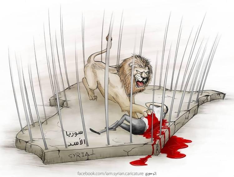 كاريكاتير سوريا وبشار الأسد