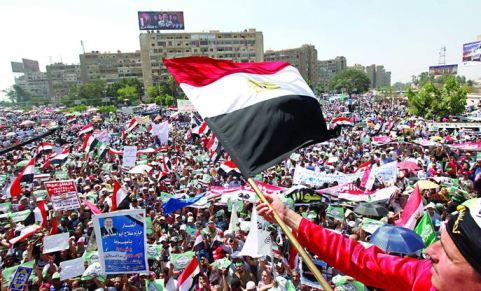 من مظاهرات مصر