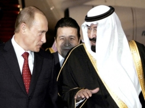 بوتين والعاهل السعودي