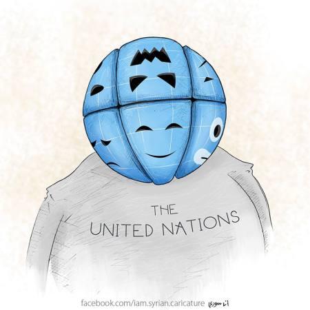 كاريكاتير الأمم المتحدة