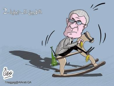 كاريكاتير الطريق إلى جنيف 2