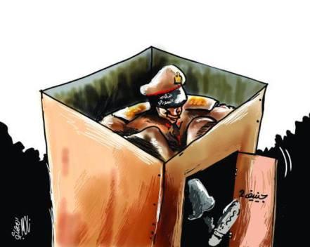 كاريكاتير النظام الأسدي