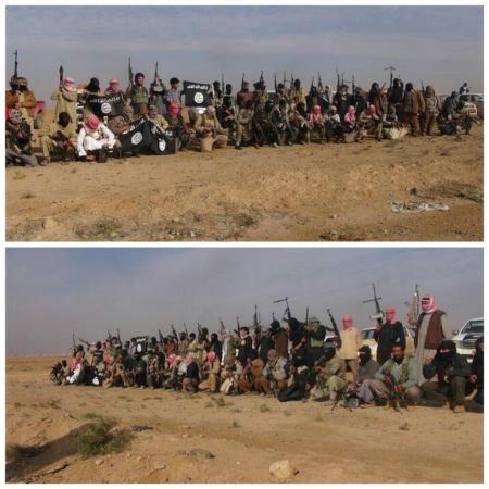 مقاتلين لدولة الشام والعراق