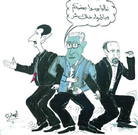 كاريكاتير الابراهيمي