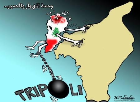 كاريكاتير سوريا ولبنان
